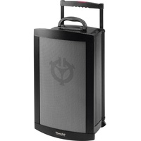 "Chiayo Victory 200 watt (120 watt RMS) 8"" full range, portable PA system with built-in Bluetooth/SD/USB Player Recorder. With CD Player"