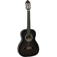 VALENCIA 1/2 GUITAR - BLACK first thumb image