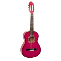 VALENCIA 1/2 GUITAR - PINK first thumb image