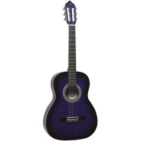VALENCIA 3/4 GUITAR - PURPLE