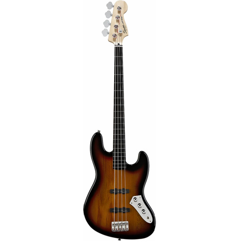 SQUIER VINT MOD JAZZ BASS FL 3-Colour Sunburst
