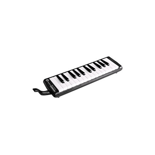 15-C94261 Hohner Student 26 Melodica, Interchangeable Mouthpiece And Tube,  Outfit In Case, Black