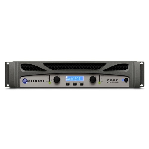 CROWN CRN-XTI2002 Power Amplifier 2x800w 4 Ohms In-built DSP; Front Panel LCD USB PC Connection