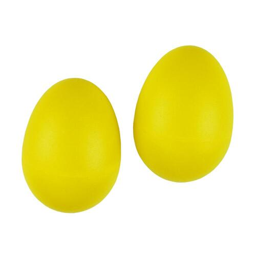 Drumfire Yellow Egg Shakers (Pair)