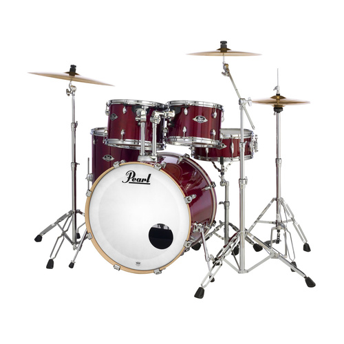 "Pearl Export Lacquer 22"" Fusion Plus Shell Pack Only Natural Cherry"