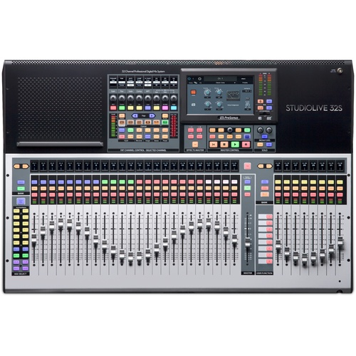 PRESONUS SL-32S Studiolive 32 Channel Digital Mixer Desk