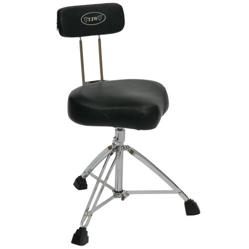 TJ Wilco Premium Drum Throne with Backrest